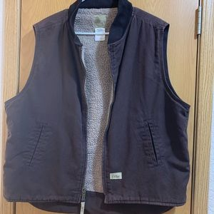 Jackets & Blazers - Women's brown Sherpa lined vest